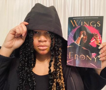 Rue from Wings of Ebony cosplay