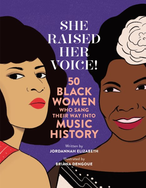 Book Cover for She Raised Her Voice! by Jordannah Elizabeth
