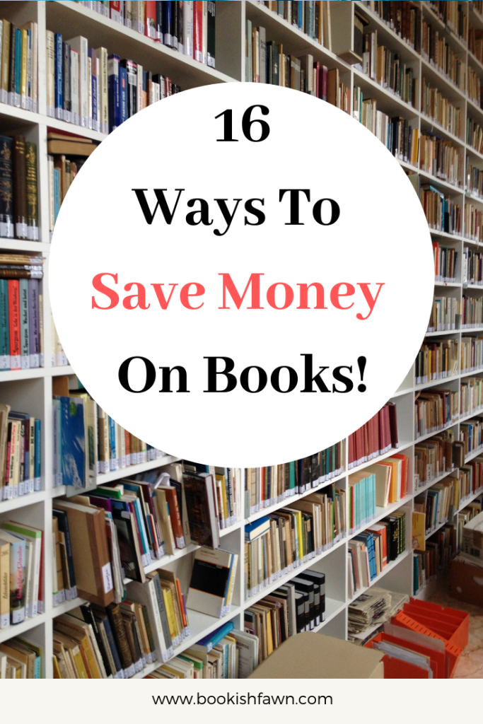 How to Save Money on Your Reading Hobby | Bookish Fawn