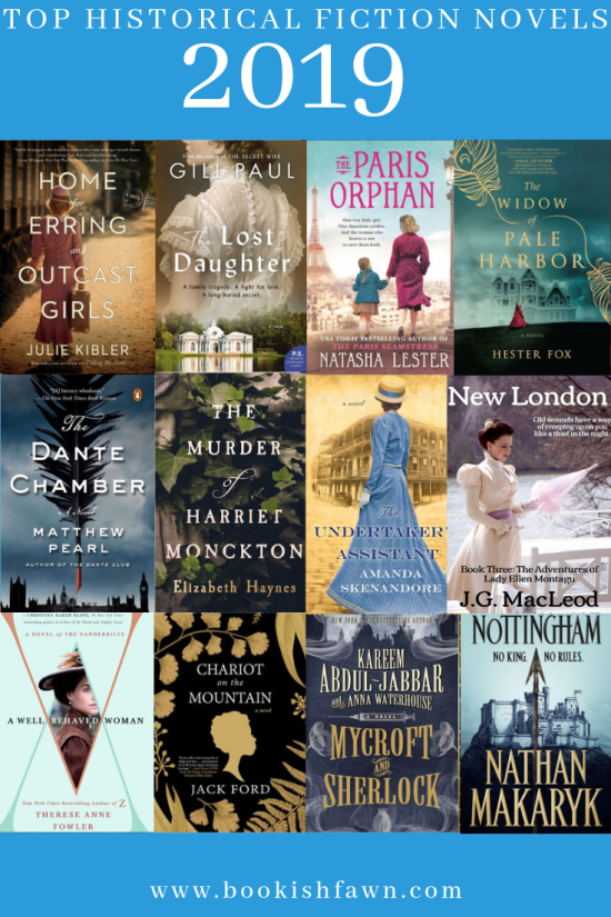 2019 Historical Fiction Novels To Look Out For | Bookish Fawn