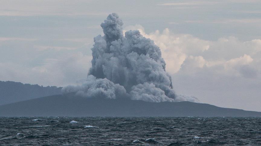 انفجار بركان أناك كراكاتوا