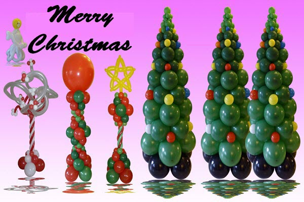 10 Ideas To Celebrate Christmas With Balloons