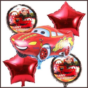 5pcs-lot-Cartoon-Red-Blue-Car-Foil-Helium-Balloons-star-Inflatable-children-t-day-toys-Theme