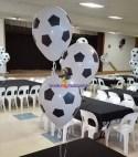 Football Print Balloons