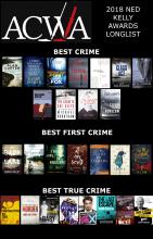 ACWA Ned Kelly Awards Best Crime 2018 long list