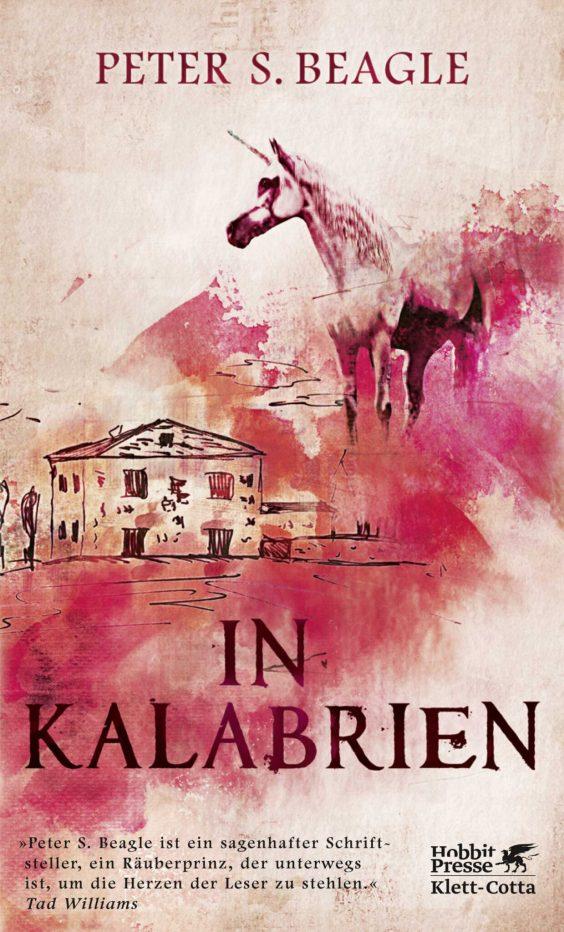 Cover in rose-Tönen zeigt ein Haus und ein Einhorn