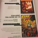Fear Agent im Previews