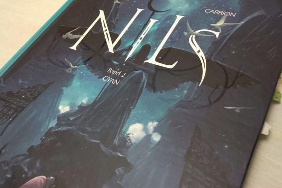 Ansicht des Covers mit großer Aufschrift Nils