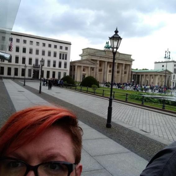 Vorplatz Brandenburger Tor