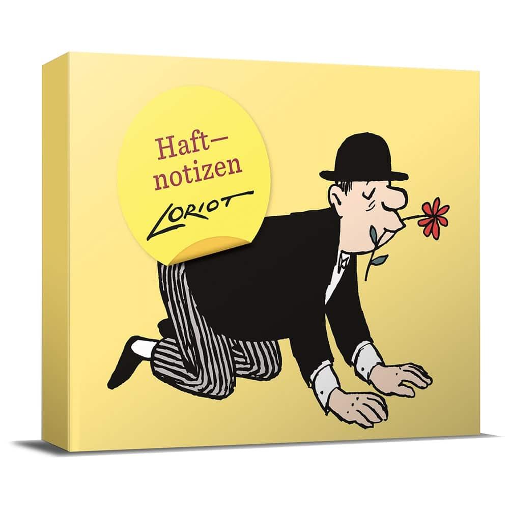 Loriot Haftnotizzettelbox