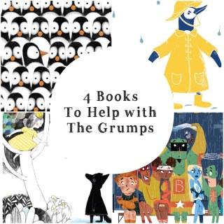 4 Books To Help with the Grumps and a Companion Activity