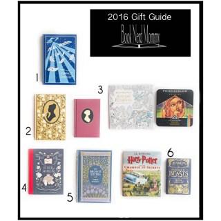 "2016 ""Book Nerd Mom"" Gift Guide"