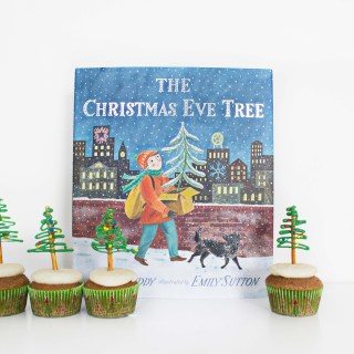 """The Christmas Eve Tree"" and Sugar and Spice ""Tree"" Cupcakes"