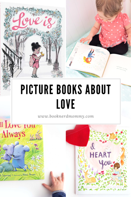 These picture books are all about love and perfect for sharing with your little loved ones.  Whether it's Valentines day or not!