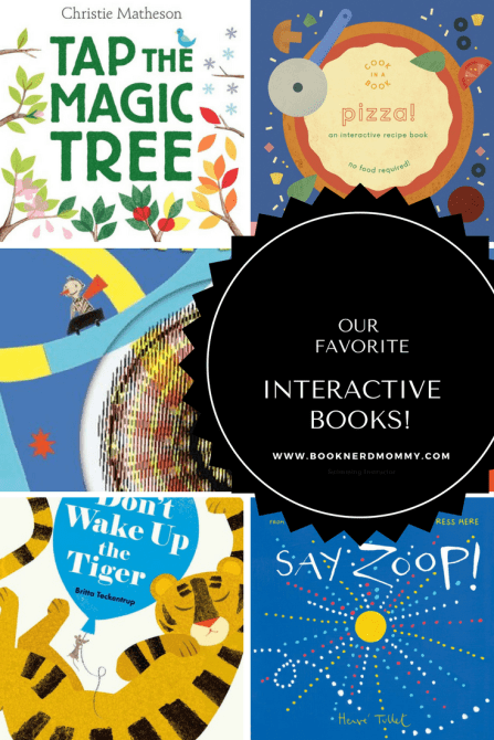 Interactive picture books are not only so much fun, but are perfect for wiggly young readers. This list has some wonderful interactive picture books on it!