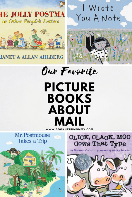 Mail is such a fun topic for children.  These picture books are all about mail and are perfect for preschoolers and other little bookworms.
