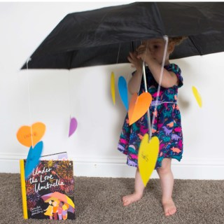 "DIY Love Umbrellas Inspired by ""Under the Love Umbrella"""
