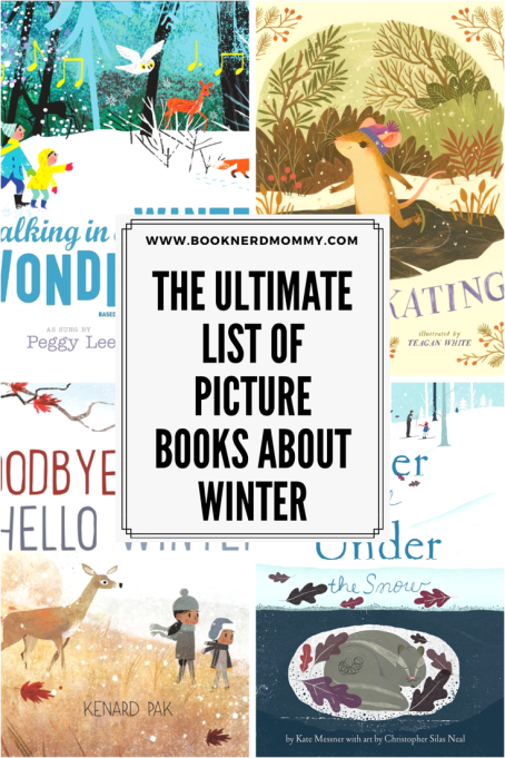 The ultimate picture book list for kids books about winter! From nonfictions books about the science of snow to winter fun, this list is awesome!