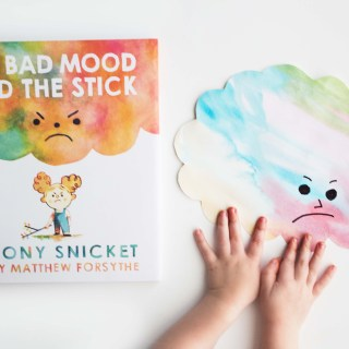 "DIY ""Bad Mood Clouds"" Inspired by ""The Bad Mood and The Stick"""