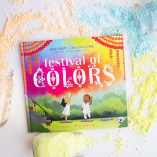 "DIY ""Holi Festival"" Powder and ""Festival of Colors"" Book"