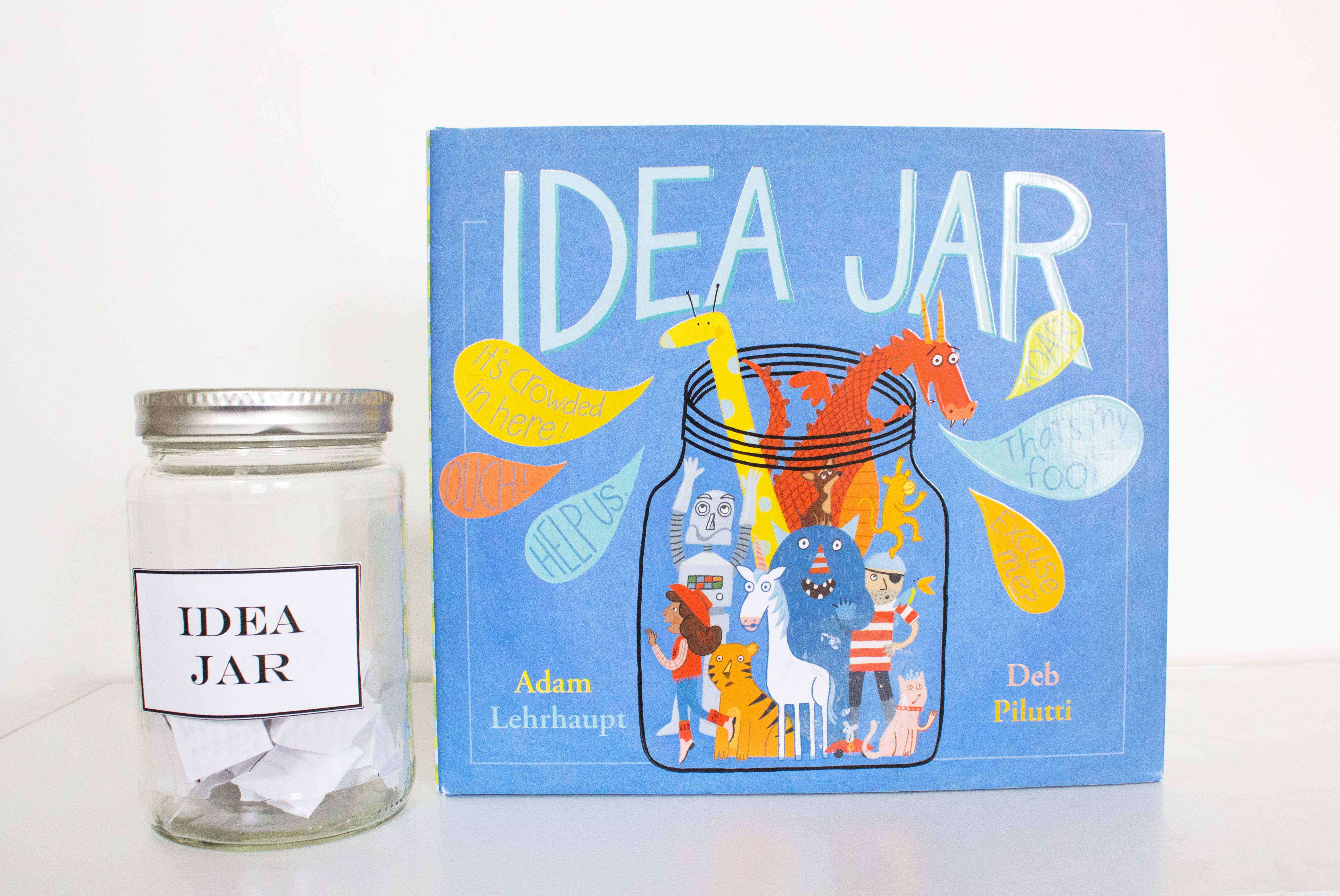 Idea Jars For Writing Inspired By Idea Jar Book Nerd Mommy