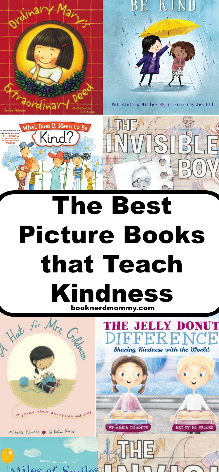 The Best Picture Books That Teach Kindness Book Nerd Mommy