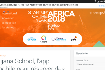 Vijana school Startup of the year Africa 2018
