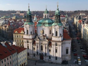 St Nicholas cathedral, Prague