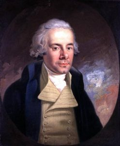 WHM146809 Portrait of William Wilberforce (1759-1833), 1794 (oil on canvas) by Hickel, Anton (1745-98) oil on canvas © Wilberforce House, Hull City Museums and Art Galleries, UK German, out of copyright