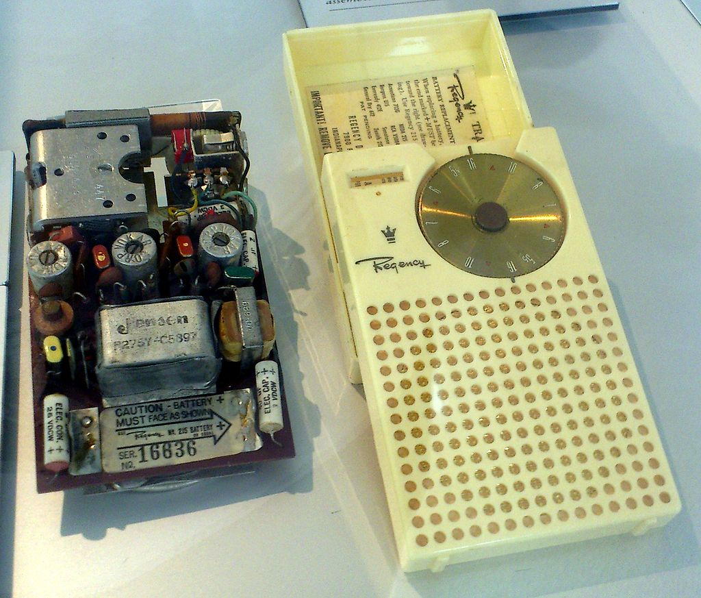 Circuit Book Of Days Tales Ideas Small Transistor Amplifiers In May 1954 Texas Instruments Had Designed And Built A Prototype Radio Was Looking For An Established Manufacturer To Develop