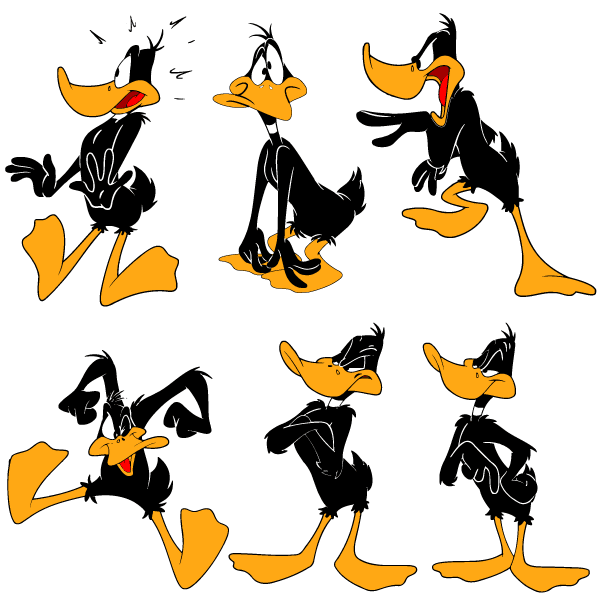 Daffy Duck Book Of Days Tales