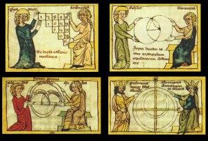 """""""quadrivium"""" of arithmetic, music, geometry, and astronomy"""