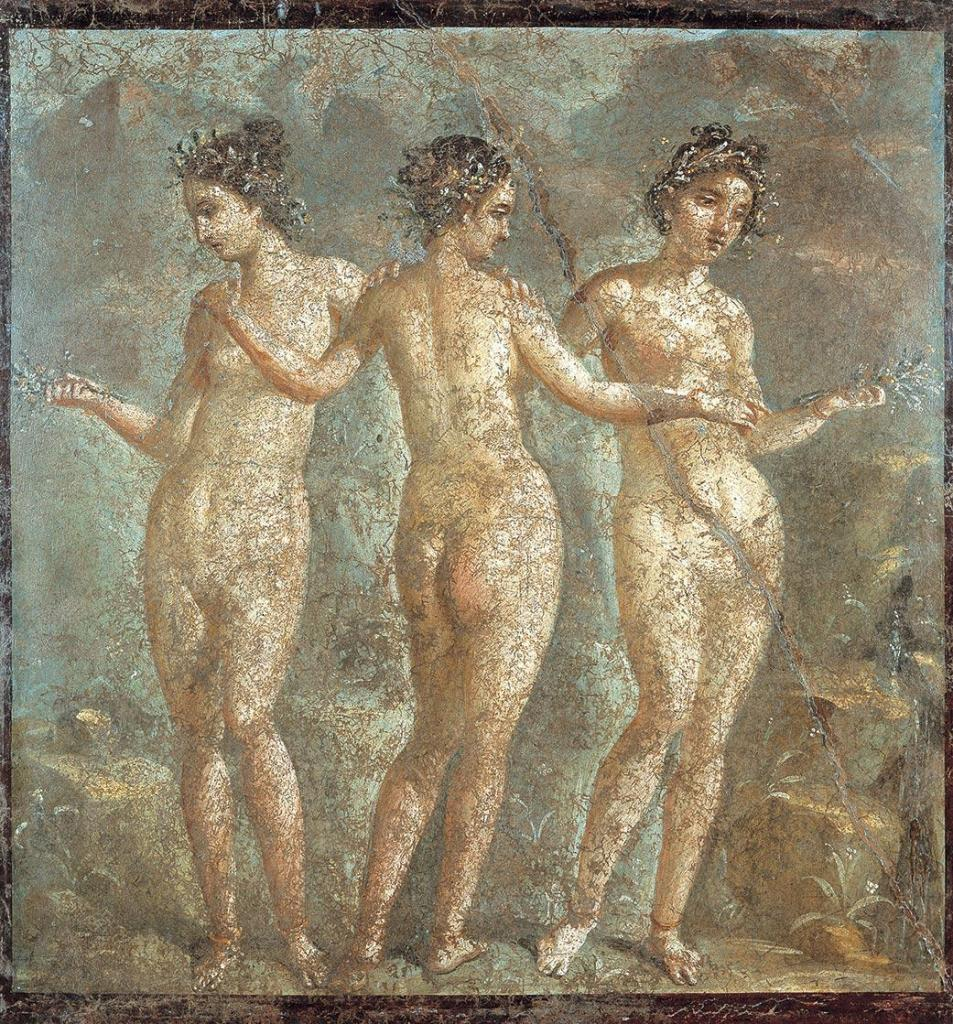 Three Graces – Michelangelo Affreschi