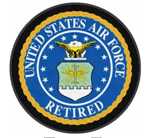 United States Air Force Retired Seal