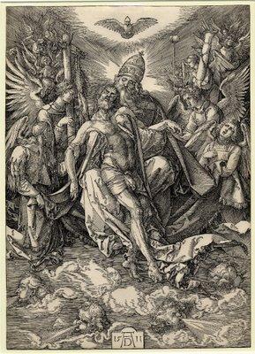 the Holy Trinity by Albrecht Dürer