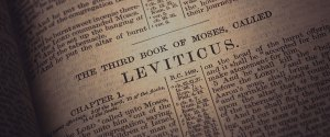 Leviticus - third Book in the Bible