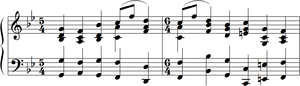Mussorgsky pictures at an exhibition chords