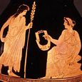 Thumbnail Apollo, Muse with Lyre