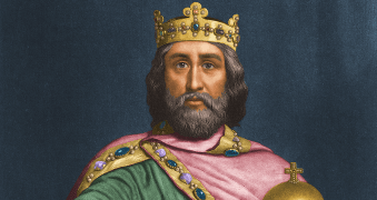 Charlemagne, or Charles the Great, who Illig claims is a mere myth, similar to King Arthur