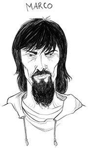 Eddie Red Undercover - Marcos Calo illustrator