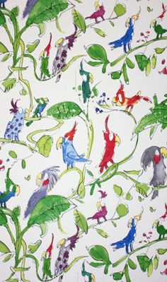 Quentin Blake wallpaper