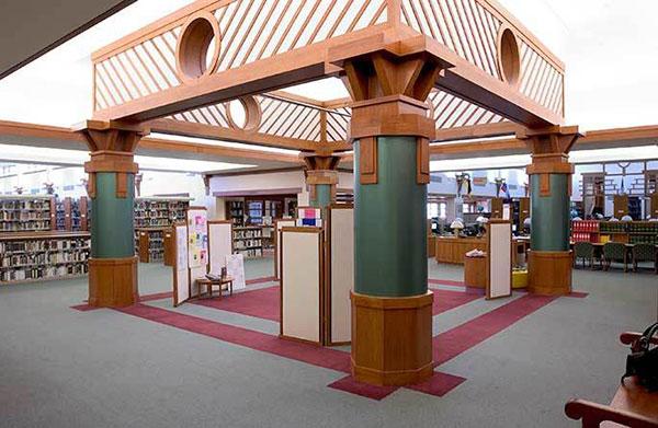 Albuquerque Academy Simms Library