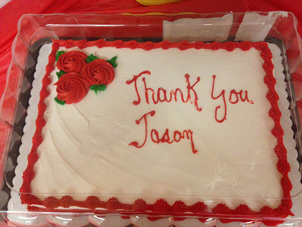 Thank you, Jason