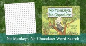 Word Search No Monkeys No Chocolate