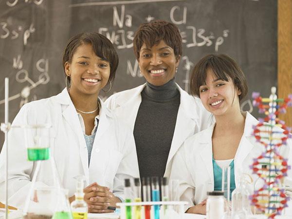 Future bold women of medicine?