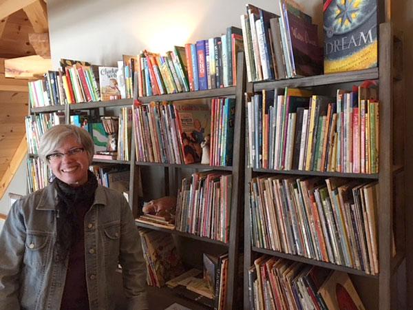Brenda Sederberg's bookcases