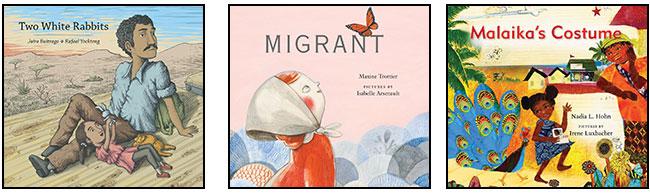Two White Rabbits, Migrant, and Malaika's Costume