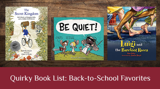 Quirky Book Lists Back-to-School Favorites