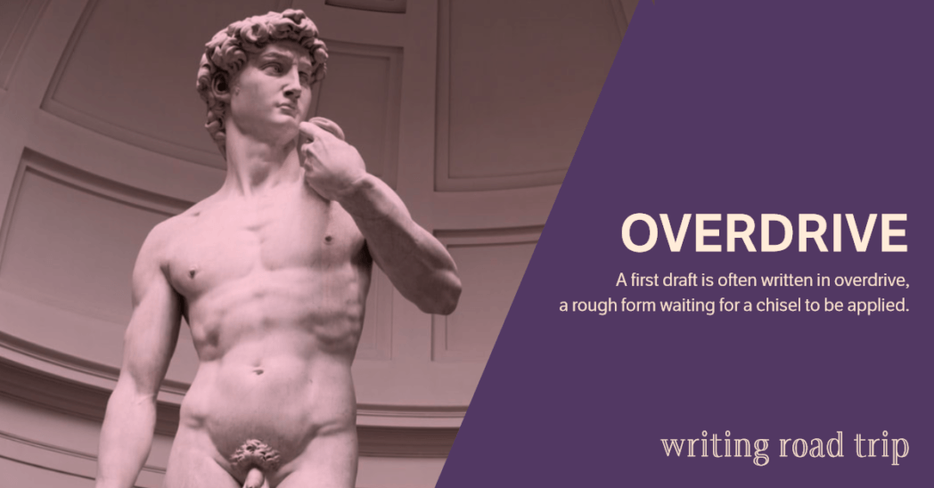 Writing Road Trip | Overdrive | by Lisa Bullard