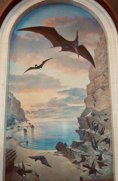 Charles Knight Mural